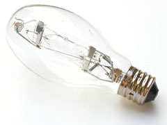 metal halide light bulb